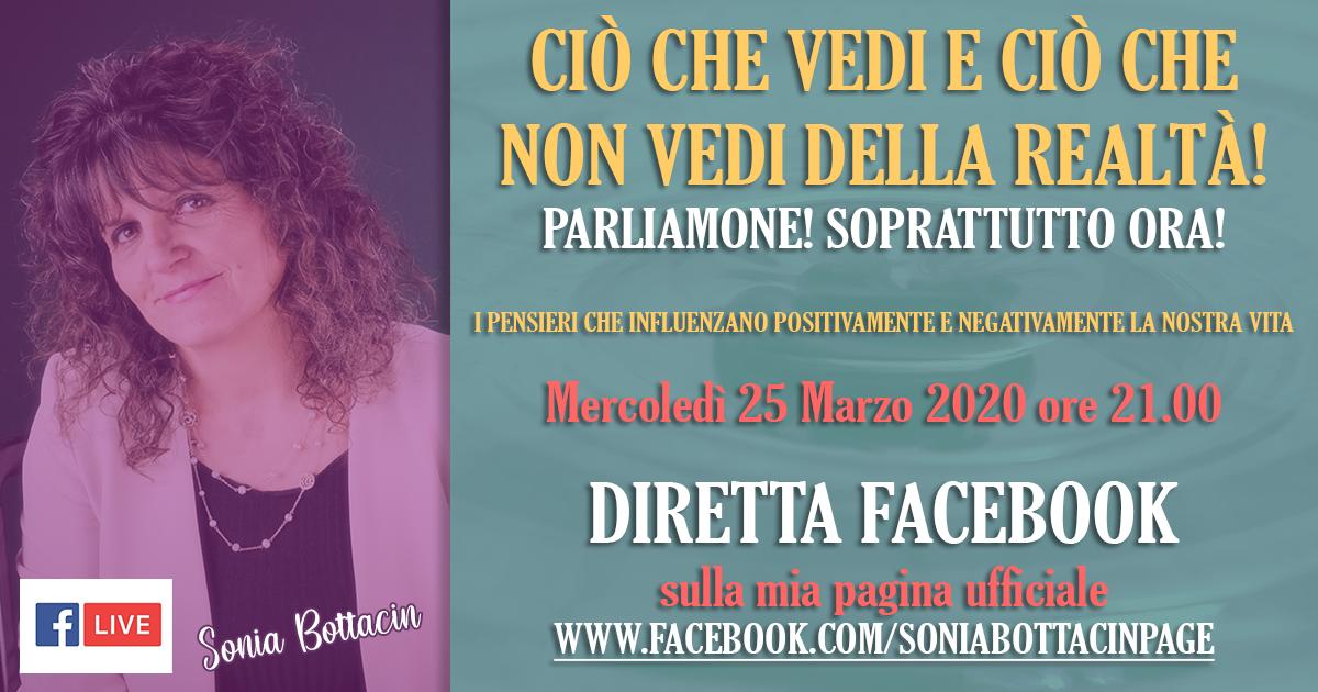 Sonia_Bottacin_ Diretta_25_Marzo_2020 – Evento